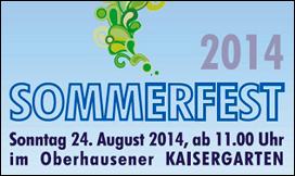 24.08.2014 - GRÜNES Sommerfest