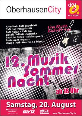 12. Musik Sommer Nacht