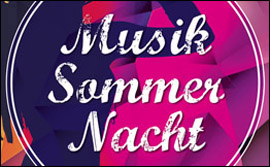 13. Musik-Sommer-Nacht
