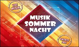 14. Musik-Sommer-Nacht